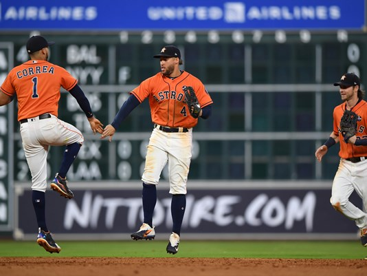 Correa, Gattis lift Astros over Mariners as Paxton stumbles