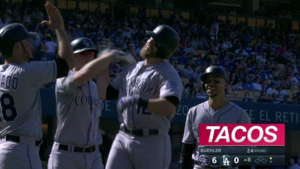 NL West-leading Dodgers lose 10th in a row, Rockies romp 8-1