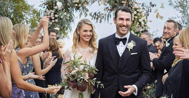 Justin Verlander's amazing week ends in matrimony
