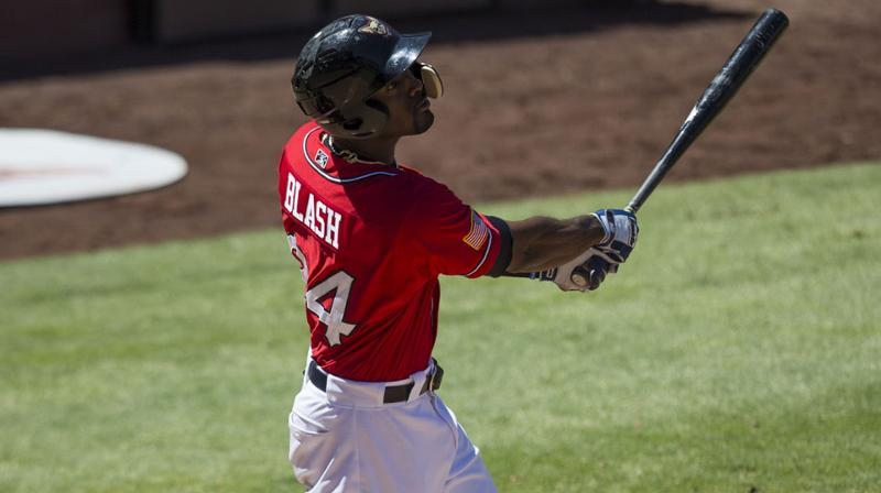 Angels acquire Jabari Blash from Yankees