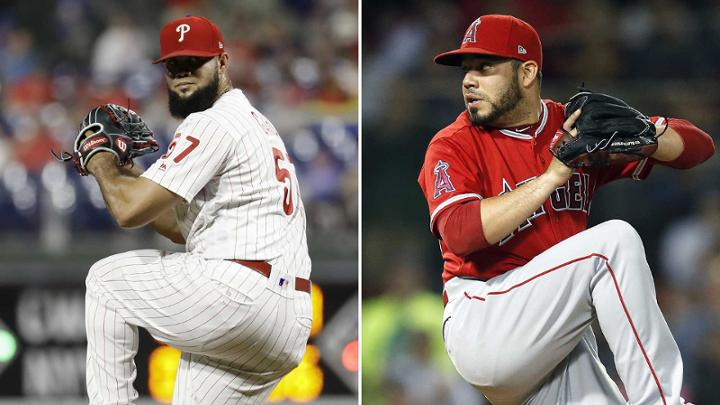 Phillies, Angels swap relievers in 1-for-1 deal