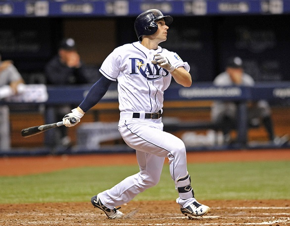 Brandon Lowe agrees to a six-year, $24M contract extension with Rays