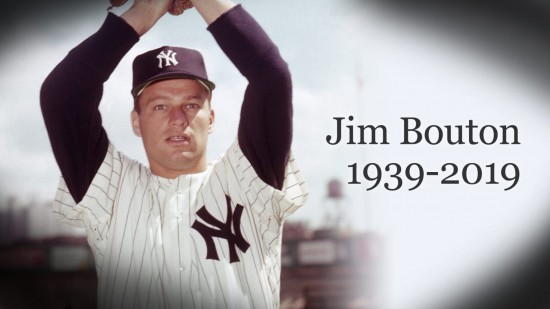 Jim Bouton, pitcher and 'Ball Four' author, dies
